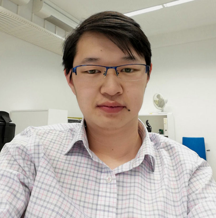 Photo showing CEST doctoral candidate Lincan Fang