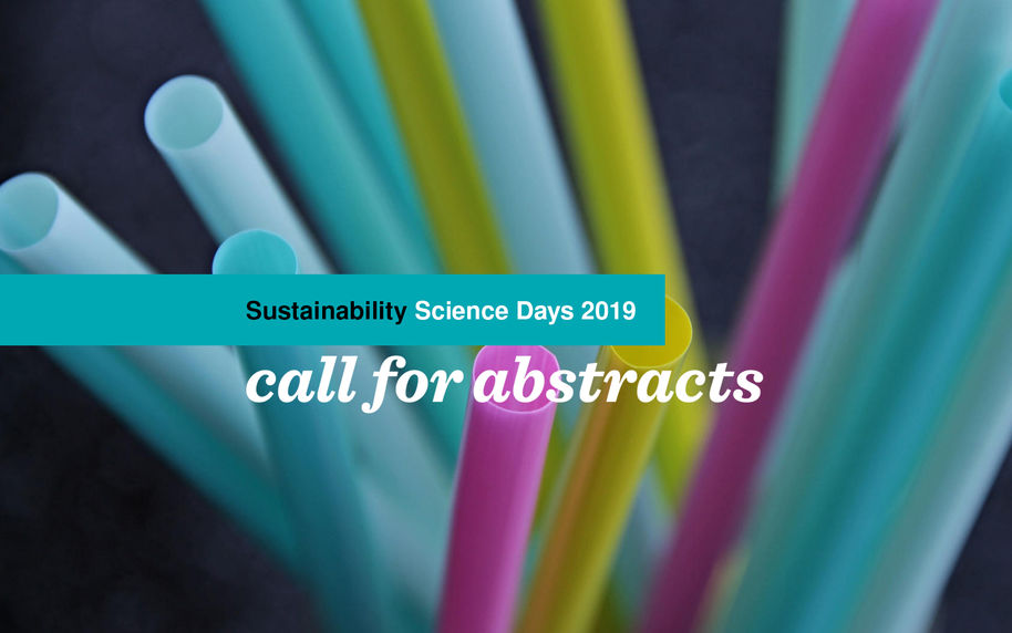 Sustainability Science Days 2019 - call for abstracts