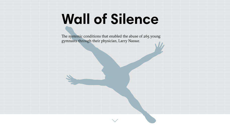 Wall of Silence, a data visualisation project by Adina Renner of Aalto University