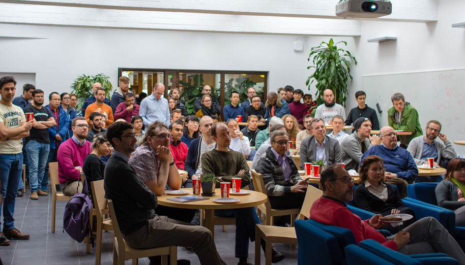 Networking event 'Artificial intelligence in materials science'_photo Glen Forde