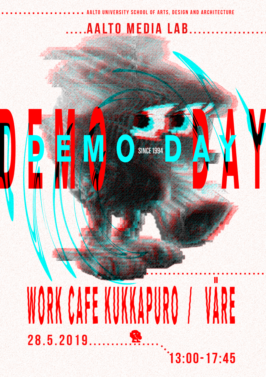 Aalto Media Lab Demo Day Poster