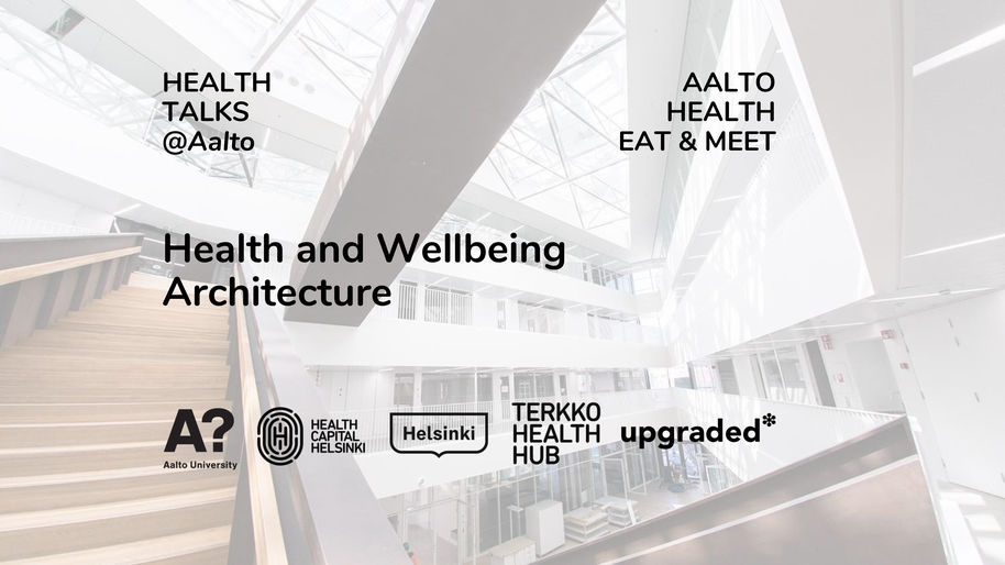 Health and Wellbeing Architecture – a luncheon