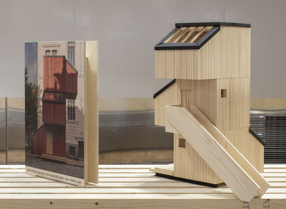 Wood Wonders: Kokoon house scale model. Photo: Anne Kinnunen