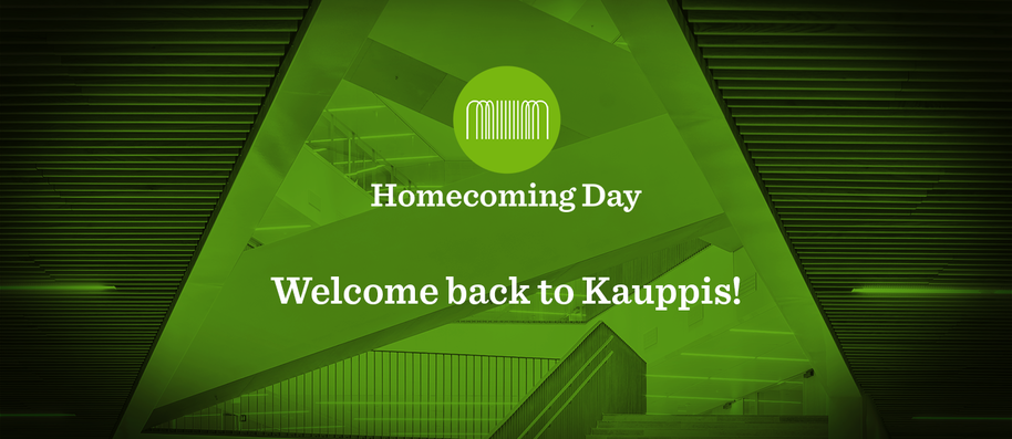 Welcome back to Kauppis!