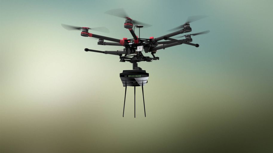 Drone-aided network communications