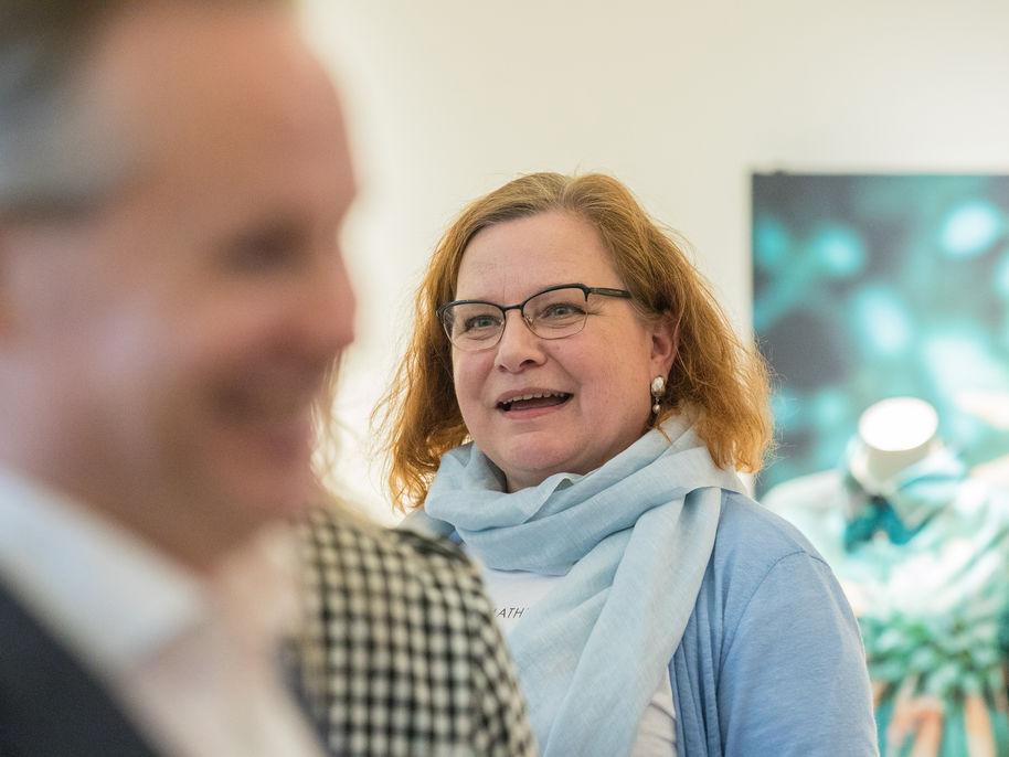 Kirsi Peltonen. Photo: Mikko Raskinen.