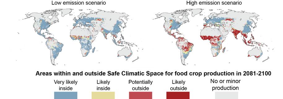 Alarmă: producția de alimente poate scădea cu peste o treime!