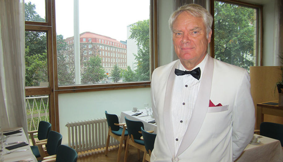 The joy walruses, Yrjö Somersalmi among them, gathered to a class reunion held at the School of Business on 17 September 2015.