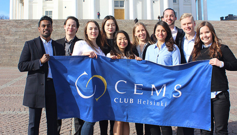 CEMS Club Helsinki Board in Spring 2017