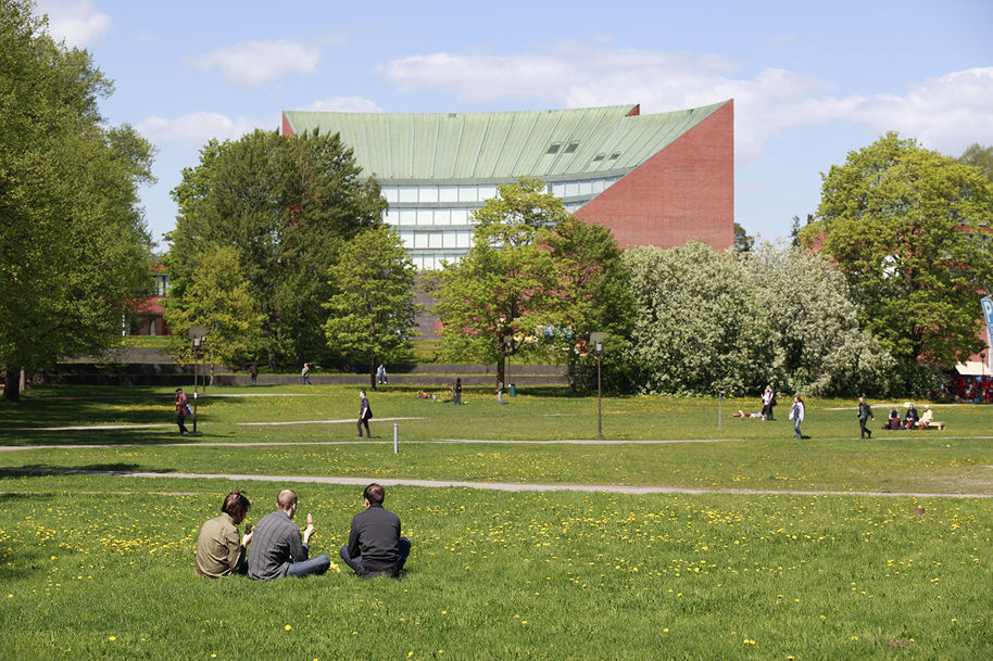 Aalto University / Otaniemi campus / summer / Finland