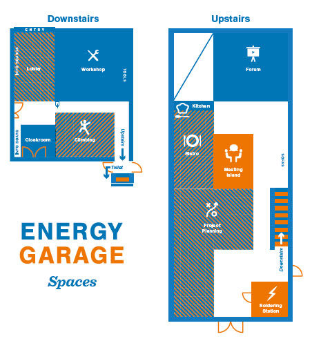 Aalto University / Energy Garage indoor map