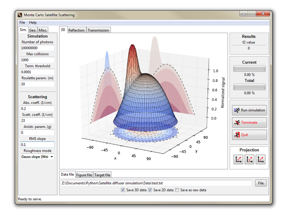 Diffuser simulation software