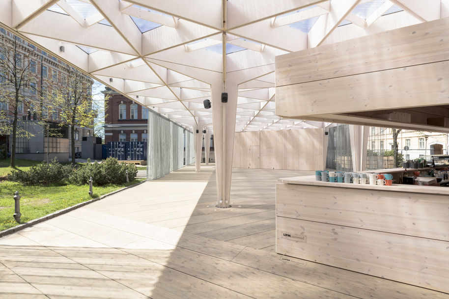 The World Design Capital Helsinki 2012 Pavilion was a meeting place open to everyone. Photo Tuomas Uusheimo