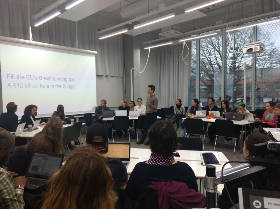 Presentations in SPSD course during the academic year 2018–2019.