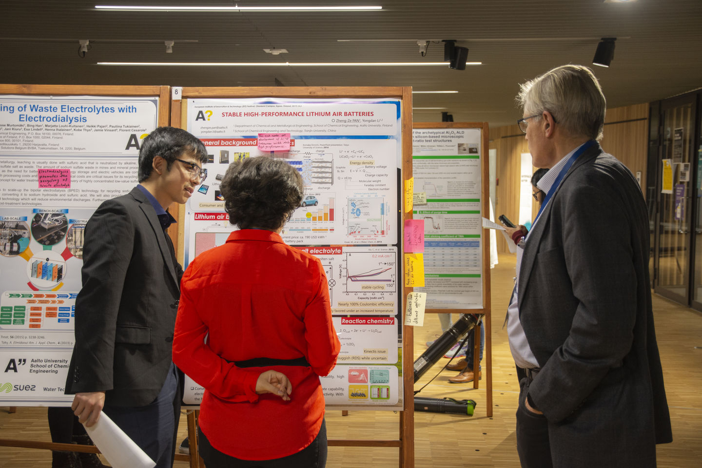Poster session and networking at EIT Festival_02.10.19_photo Valeria Azovskaya