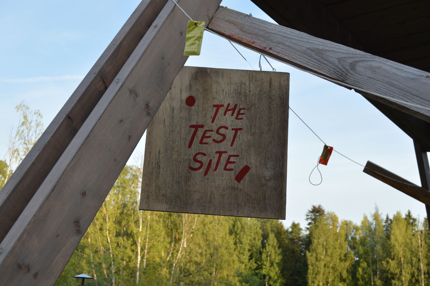 The Test Site. Copyright Creative Sustainability.