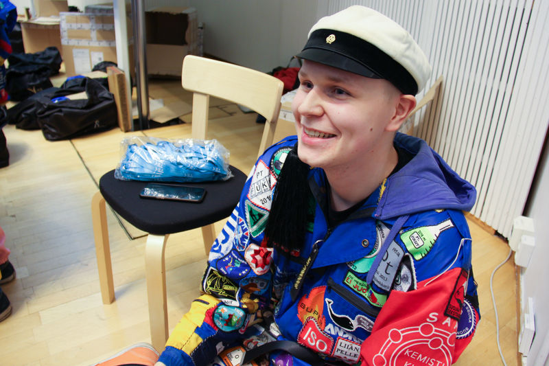 Image of Jani Anttila smiling