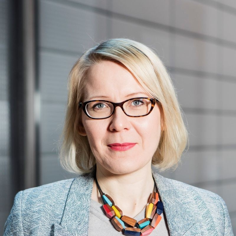 Portrait of Aalto University Associate Professor Nina Granqvist
